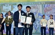 吳業坤大讚得獎口號既切合主題,又易上口,他還與現場觀眾分享自己的創作靈感,大談何謂創意無限。