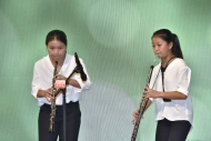 The Ceremony featured performances by the Oboe and Cor Anglais Duo 2S.