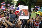 泰國爆發大型反政府示威,要求總理英祿下台 (來源︰路透社)