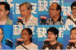 圖: 八位小組代表