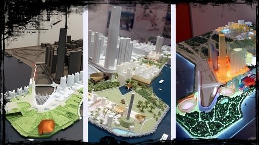 西九文化区三个概念方案